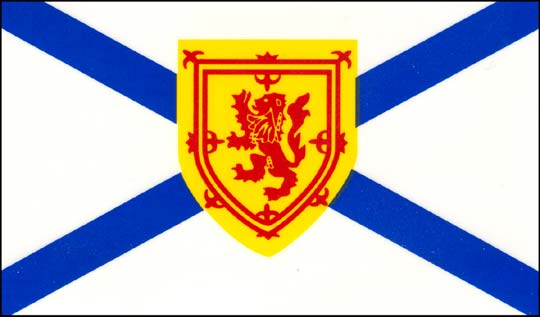 Image of Nova Scotia flag