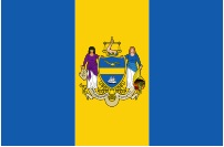 image of Philadelphia flag