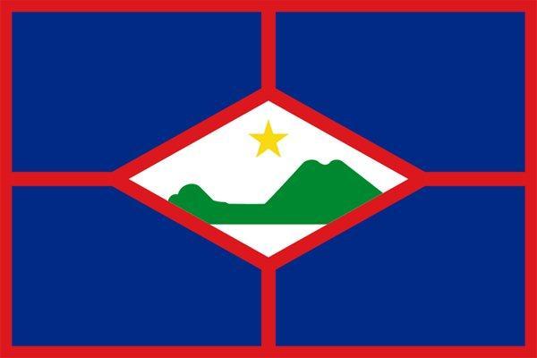 Image of Sint Eustatius flag